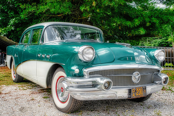 """Bob's 56 Buick, Barry's 74 """"Thing"""""""