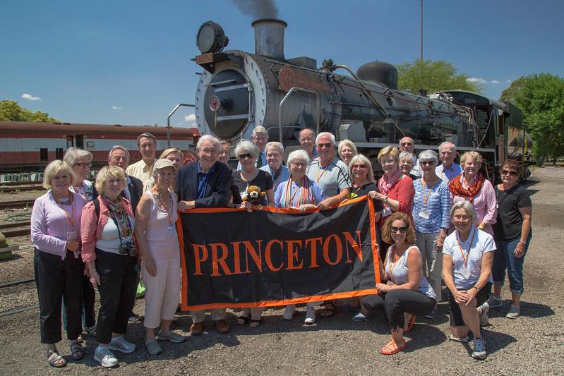Princeton group and Rovos Rail 2015