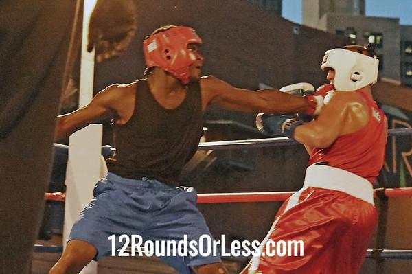 Bout 9 Rashad Chisem, Cleveland/EBT Boxing -vs- Kevin Cole, Akron/Terminator BC, 165 lbs