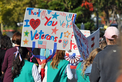 Folsom Veterans' Day Parade, 11 November 2010