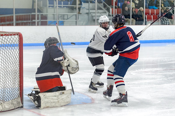 LHS Girls Ice Hockey vs. Brookline 2019