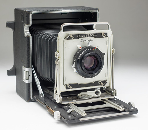 Graflex Pacemaker Crown Graphic Field Camera