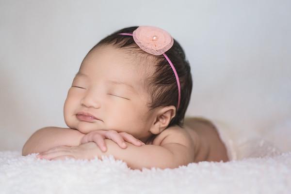 Baby Eryn's Newborn Portraits