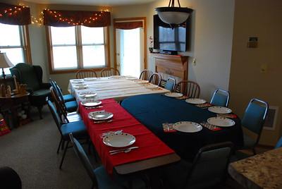 2019 01 09: American Indian, Native Dinner, Federica's handiwork
