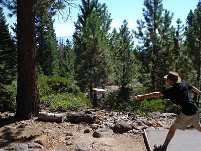Disc Golf - North Tahoe Regional Park 09-28-2011