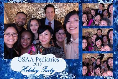 GSAA Pediatrics Holiday Party 2018