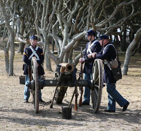 Fort Fisher Battle Reenactment