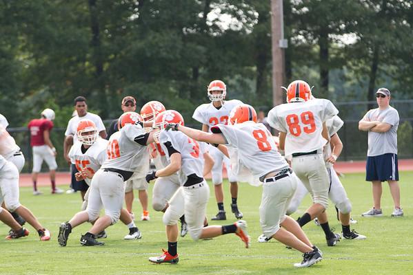 Oliver Ames High School Football & Cheer 2012