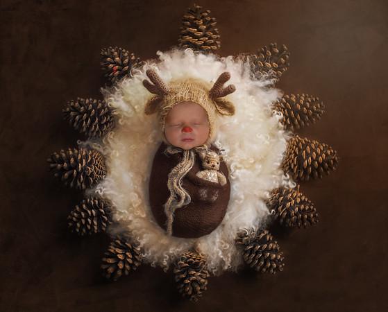 Bennett Newborn Photos