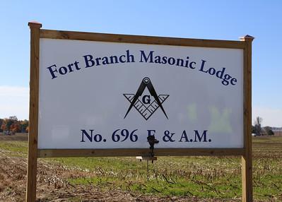 Fort Branch Lodge #696 Dedication & 100yrs