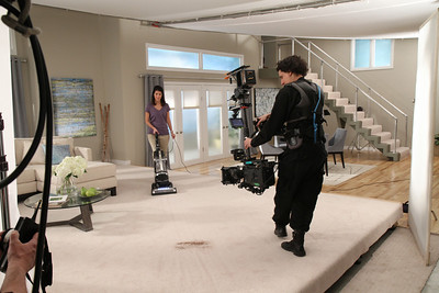 Commercial spot shoot - January 24, 2011