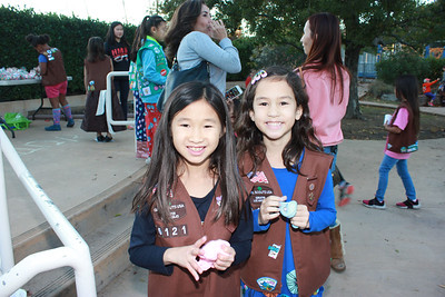 Girl Scouts, Mothers Savor Holiday Giving Tea