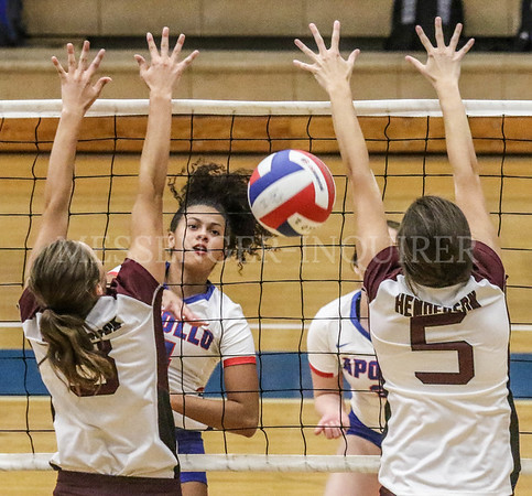 Apollo vs Henderson County Volleyball - 8-24-19 - Messenger-Inquirer