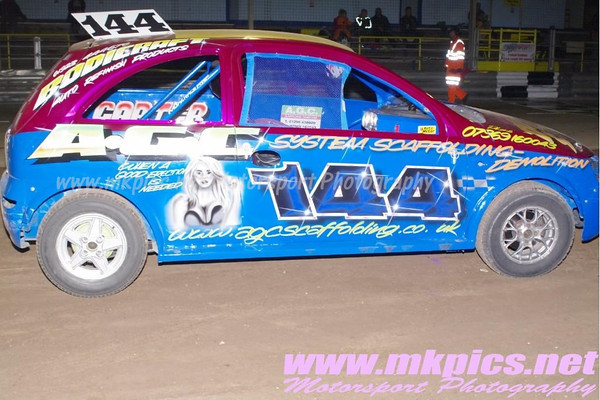 Stock Rods, Foxhall Stadium, Ipswich, 8 September 2012