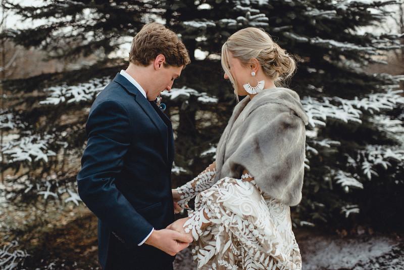 Requiem Images - Luxury Boho Winter Mountain Intimate Wedding - Seven Springs - Laurel Highlands - Blake Holly -545.jpg