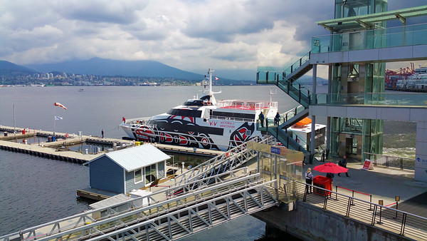 Vancouver Waterfront, City Scenes & Ferry to Victoria