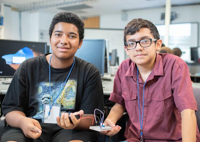 Isaiuh Cercantes (Left) and Julian De La Rosa (Right)