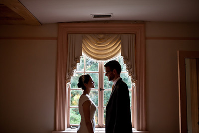 Chris + Emily @ Woodlawn Manor