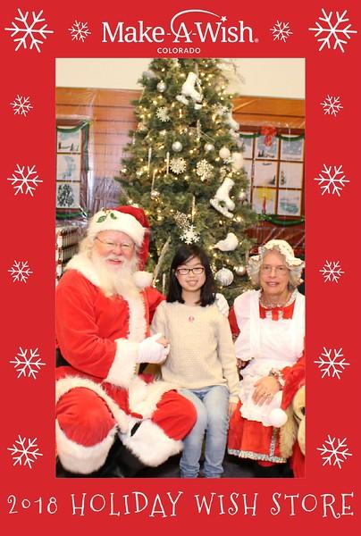 Make A Wish 2018 Holiday Wish Store