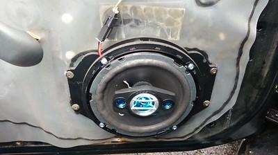 2003 Chevy Cavalier 4 Door Base Model Front Door Speaker Installation