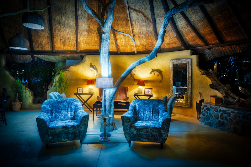 """We stayed in lots of amazing places on the recent adventure in Africa and this was one of our favorites in Zimbabwe. We stayed here for three nights and it was our home base for heading off to visit the rare white rhinos. We do photography lessons almost every day, and this is one of the """"interior architecture"""" photo days! Read more: https://www.StuckInCustoms.com"""