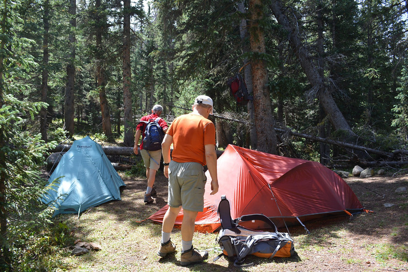 At our camp we were at about 12 – noon.