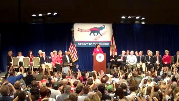 Video - Gov. Palin`s Speech at Orlando RNC Event