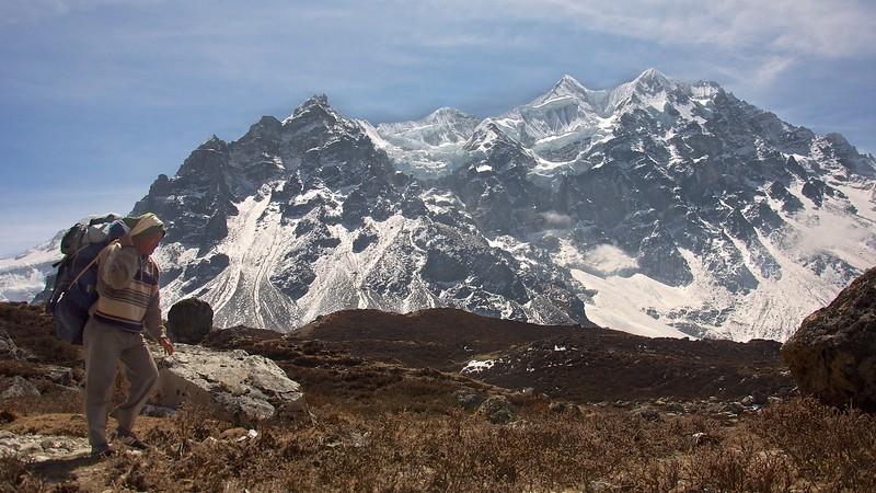 Den 8: Khangpachen - Lhonak