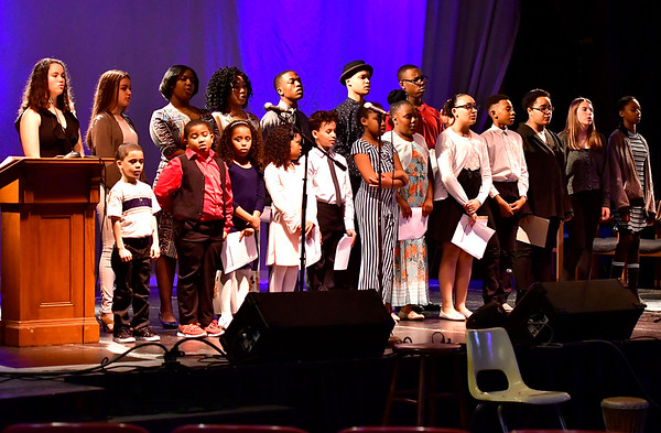 3/23/2019 Mike Orazzi | Staff The Queen Ann Nzinga Centers 10th annual Connie Wilson Collins Exceptional Women Concert, honoring outstanding women from the Greater Bristol, Plainville and New Britain community, held at Trinity on Main Saturday evening.