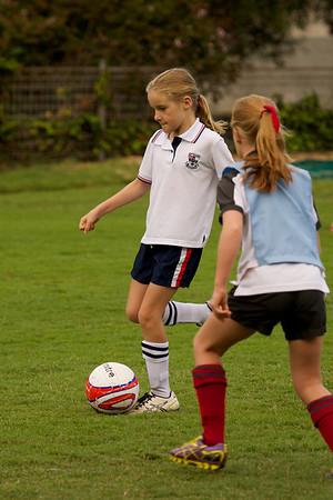 Wenona Soccer Year 4 Leopards vs Queenwood