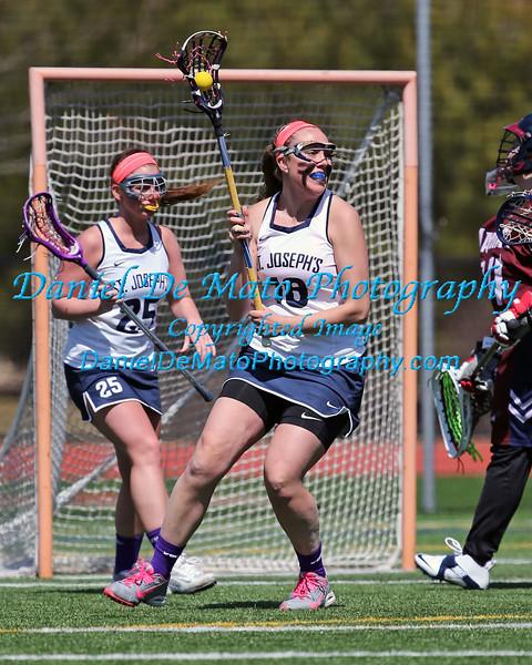 St. Joseph's Lacrosse vs Maritime 4-11-15