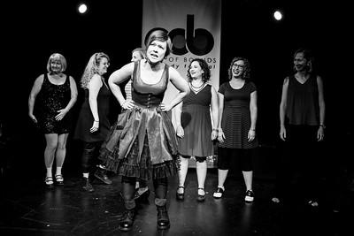 2016/09/02 Girls Girls Girls Improvised Musicals