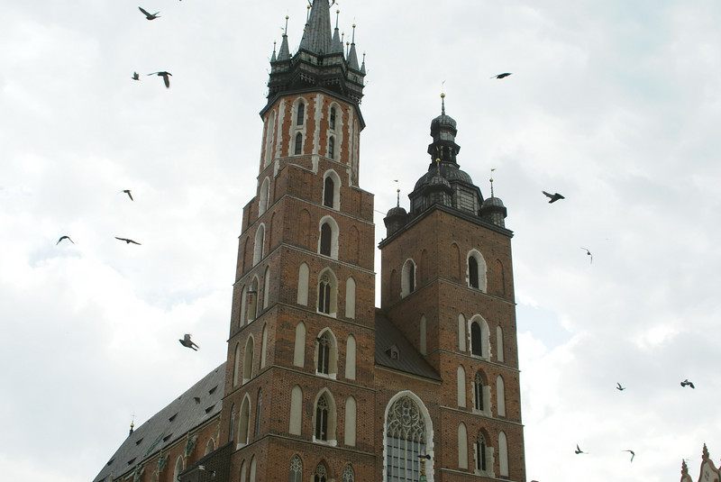 There's a tower in the main square of Krakow where a guy plays a horn every on hour on the hour in memory of a watch guard that was killed saving the city from an attack 500 years ago.  Do you think someone will play a tune for my contributions to the world: clean toilets and misterhausfrau.com?