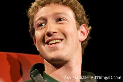 Mark Zuckerberg, CEO and Sheryl Sandberg, COO, Facebook