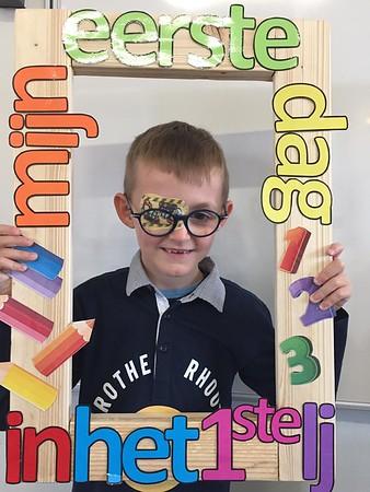 Klas 1 : eerste schooldag