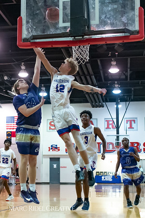 Broughton boys varsity basketball vs Sanderson. February 12, 2019. 750_6241