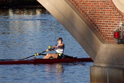 Justin' Rowing