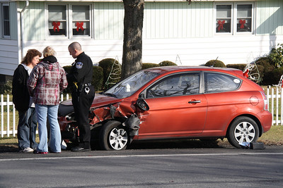 Two Vehicle Accident, SR309, Hometown (12-30-2011)