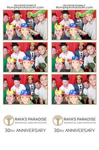4/30/21 - Raya's Paradise 30th Anniversary