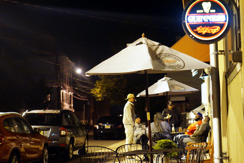 Hat City Kitchen After the Mike Lees Jazz Jam Discussing The Day.JPG