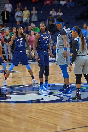 2019-07-2 Mn Lynx vs Atlanta Dream