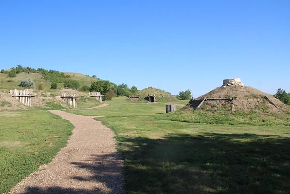 Mandan Indians - Mound Village