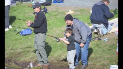 Fishing At Stratton Brook
