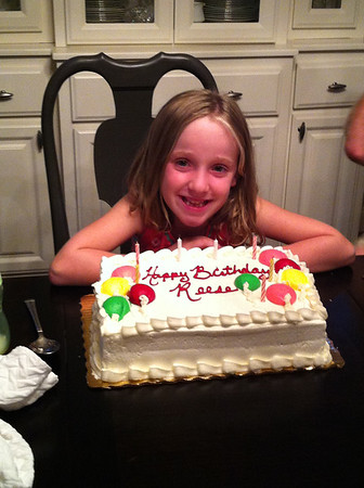 Reese's 7th Birthday