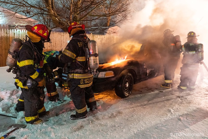 Brentwood Car Fire 02-01-2021