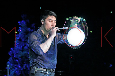 New York, NY - April 20:  THE GAZILLION BUBBLE SHOW by Fan Yang at New World Stages.