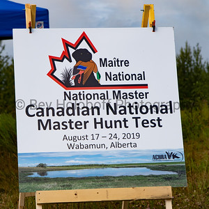 Canadian National Masters Hunt Test