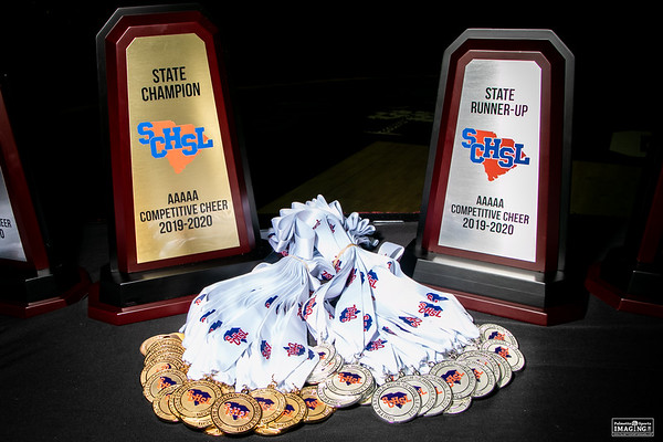 5A 2019 State Cheerleading Championship
