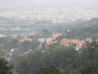 Sintra, Portugal - Moors Castle