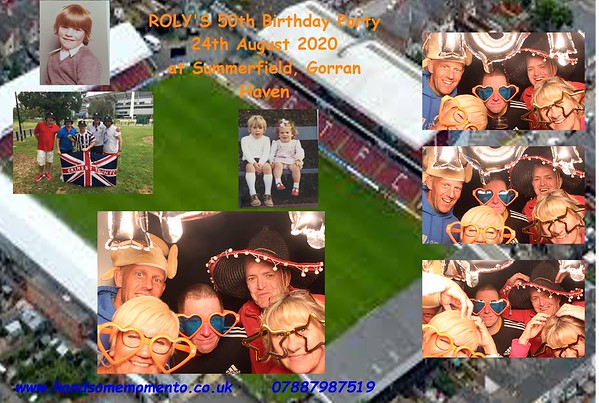 Roly's 50th Birthday Party at Summerfield 24-08-2020